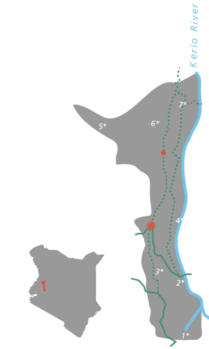 MAP - Elgeyo Marakwet